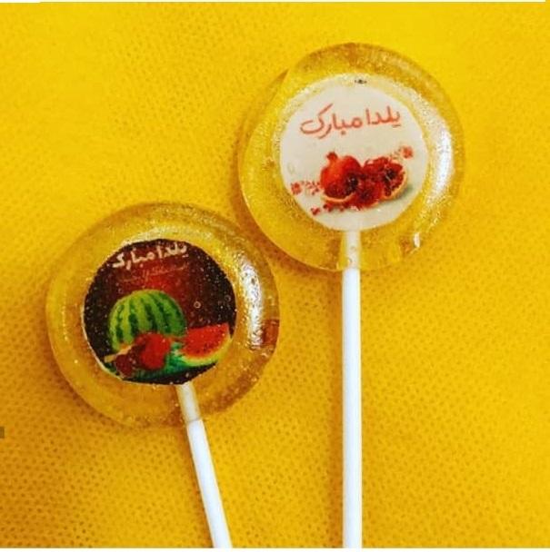 هدیه تبلیغاتی آبنبات با قطر 4 سانت